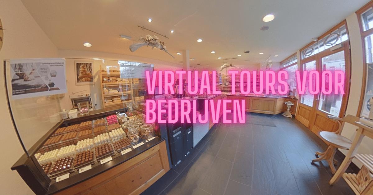 Virtual tours voor bedrijven